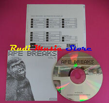 CD Ape Breaks Vol 4 COMPILATION DRUMS SAMPLES BATTERIE  no mc vhs dvd (C36)
