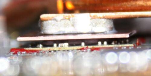 HP DV4-2000 GPU Thermal Pad Copper Shim ATI Radeon HD 4200 Overheating Fix