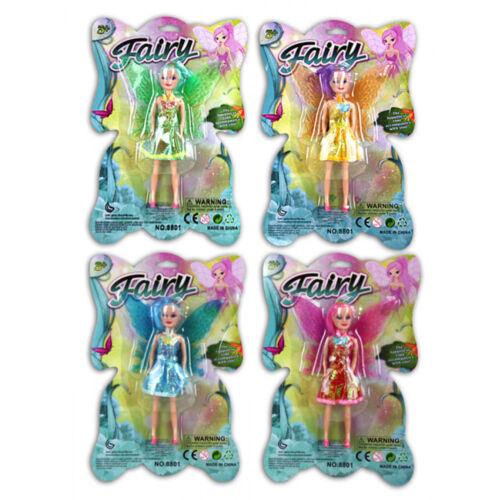 Kids Toy Mini Fée Poupée bon marché Jouet Fille Cadeau Noël Stocking Filler
