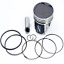 Piston Kit Standard Bore 87.89mm~1995 Polaris Magnum 425 2x4