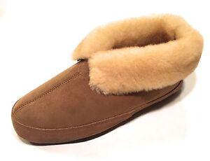 Qwaruba-Men-039-s-Fireside-Sheepskin-Slippers