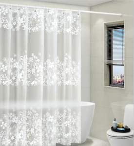 duschvorhang weiss anti schimmel badewannen vorhang breite. Black Bedroom Furniture Sets. Home Design Ideas