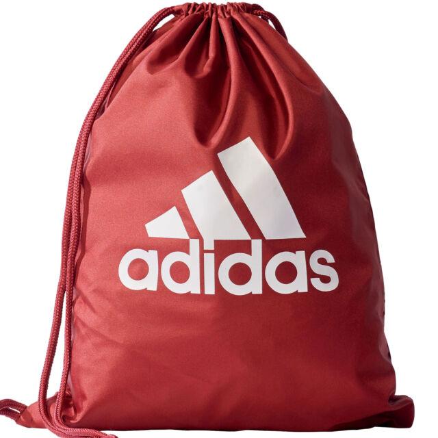 d4c4e5169b adidas Drawstring Bag Training Linear Performance Gym Fashion Unisex ...