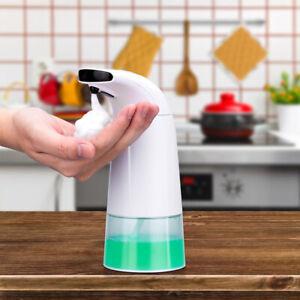 Distributore-Sapone-Automatico-Schiuma-250ml-Dispenser-con-Sensore-Infrarossi