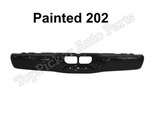 Painted 202 Black Rear Bumper Face Bar Top Lower Pad For 2000-2006 Tundra