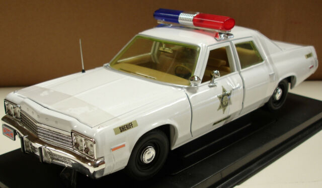 1974 Dodge Monaco Hazzard County Police Car Corrected