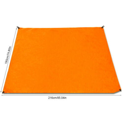 "X Large 75x85/"" Camping Picnic Blanket Mat Voyage Tapis de plage imperméable Outdoor"