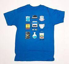 Breaking Bad - Minimalist - Men's 3X-Large Blue T-Shirt Graphic Tee  3XL