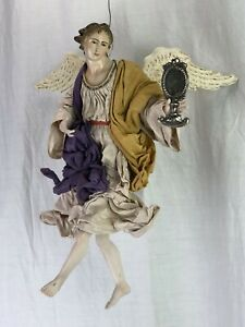 Angelo-Engel-Angel-35-Cm-Creche-Neapolitan-Krippen-Kunst-Presepe-Napoletano