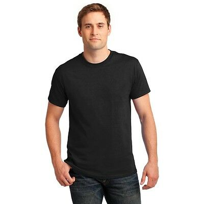 Gildan Men/'s Heavy Cotton T-Shirt Bulk Lot Solid Blank 5000 NEW Pack of 10