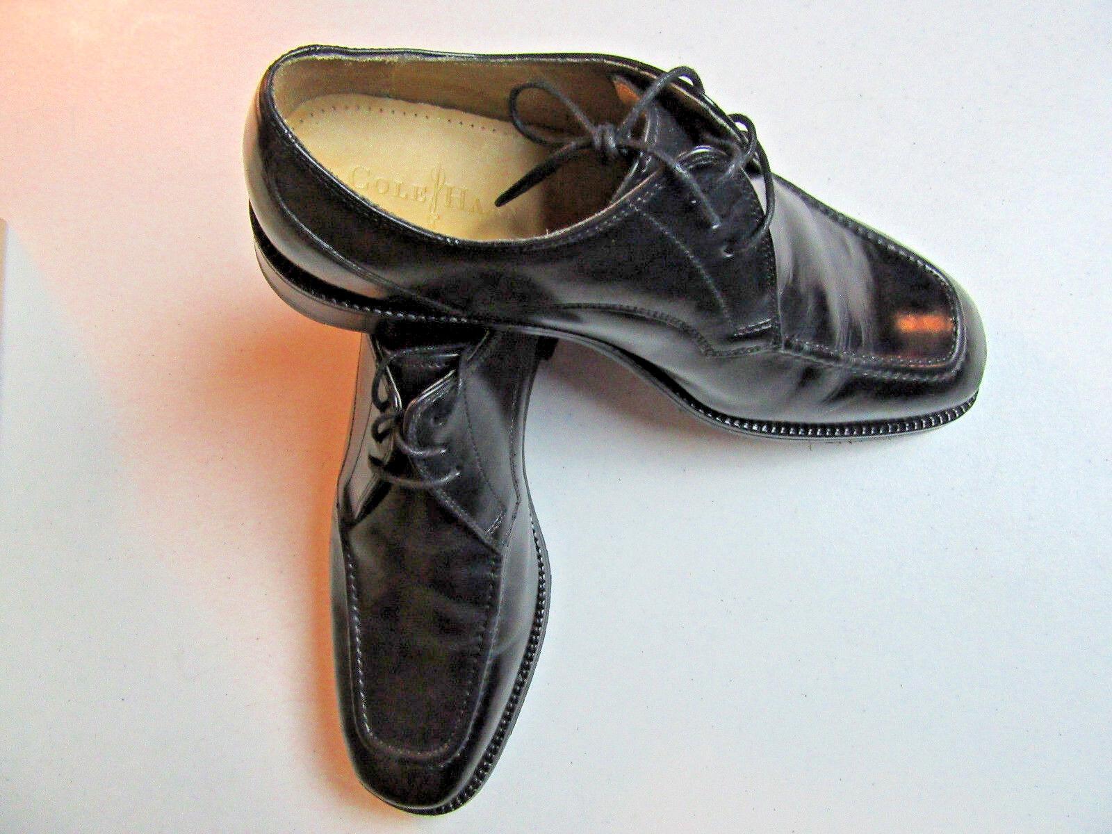 175 Nouveau Cole Haan Eaton Moc Toe Lace Up Chaussures Avec Combinaison Semelle en Noir 9 m