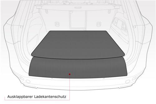 2018 Kofferraummatte mit Ladekantenschutz für BMW 3er G21 Touring Kombi ab Bj