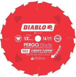 New Freud D1216lf 12 Quot 16 Teeth Diablo Pergo Flooring