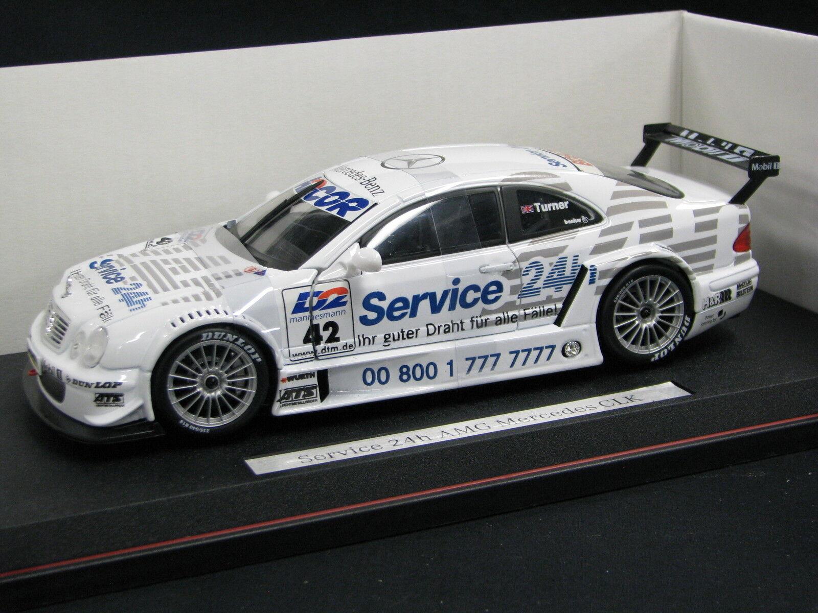 Maisto Mercedes-Benz CLK DTM 2000 1 18  42 Darren Turner (GBR) (JS) DV