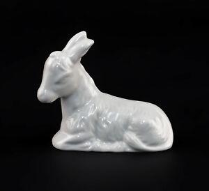 9942870-Wagner-amp-Apel-Porcelain-Figurine-Donkey-Lying-White-6-5x3x6cm