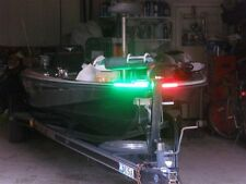 BOAT LED BOW LIGHTING RED & GREEN NAVIGATION LIGHT MARINE LED BASS BOAT KAYAK