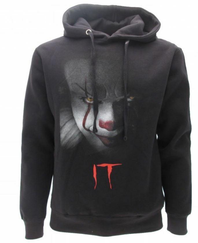Sweatshirt It Original Clown Film 2019 Official Product Black Hood