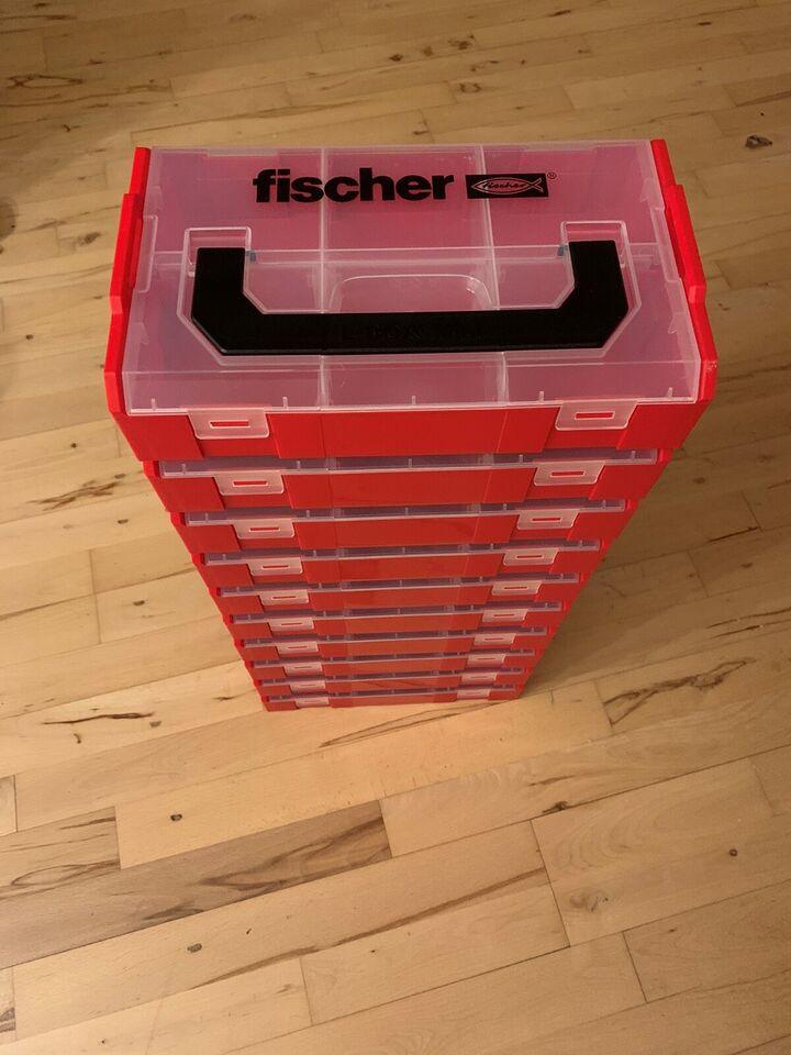Fiskekasse, Fischer