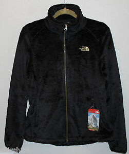 dba66b875d5ff North Face NWT Womens Black Curry Gold Osito Soft Fleece Jacket Coat ...