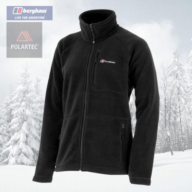 Berghaus Men's Activity Polartec Thermal Pro Fleece Jacket - Black