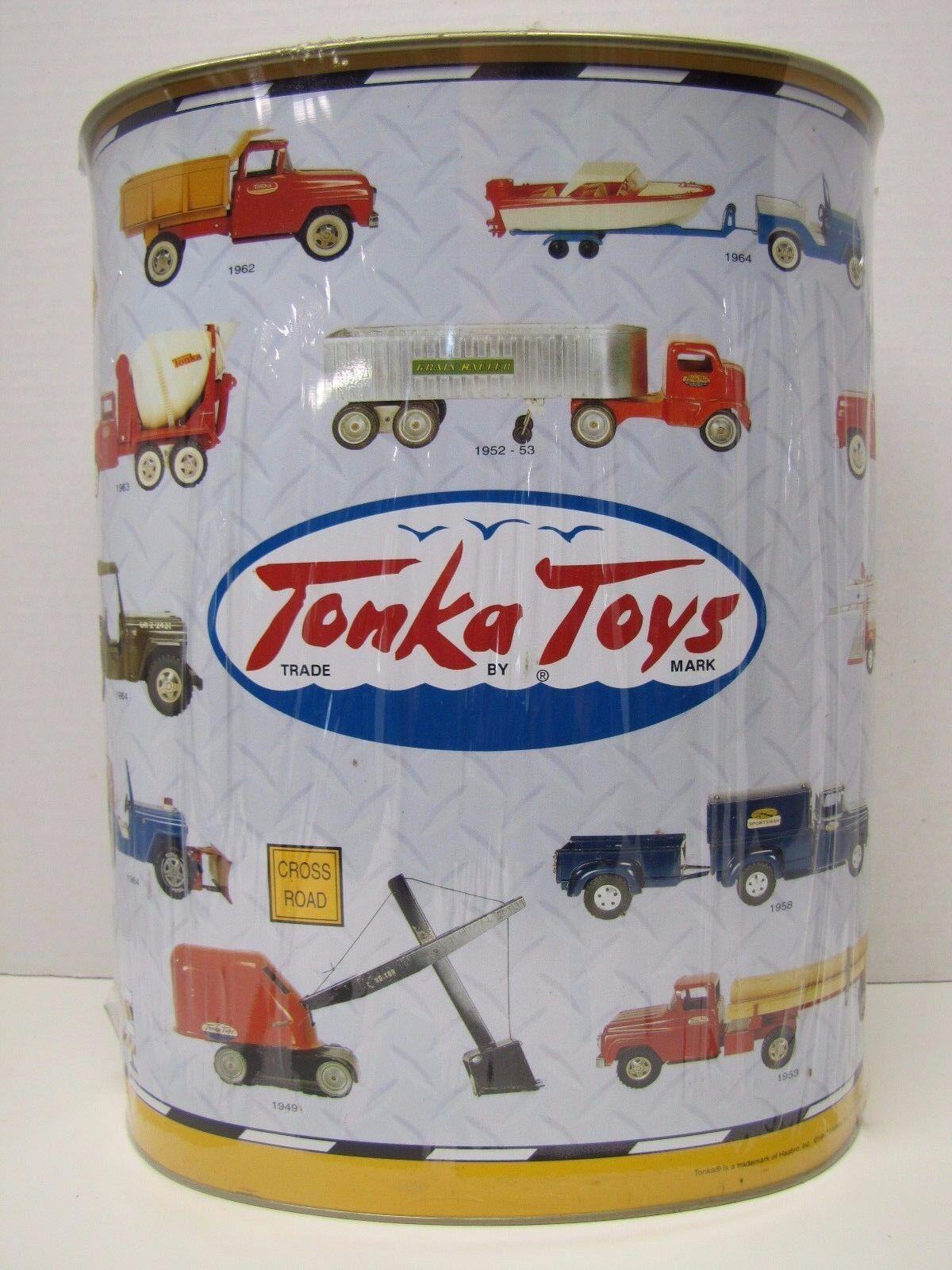 calidad de primera clase Tonka Juguetes publicidad Tin Metal basura puede Edición Limitada Sin Sin Sin Abrir W palomitas de maíz  Todos los productos obtienen hasta un 34% de descuento.