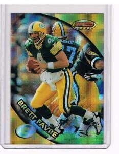 1997-BOWMANS-BEST-BRETT-FAVRE-ATOMIC-REFRACTOR-1-GREEN-BAY-PACKERS-HOF