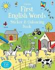 First English Words Sticker and Colouring Book by Kirsteen Robson (Paperback, 2016)