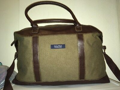 Billabong VIVICA Dark Brown Turquoise Handbag D Overnight Travel Duffel Bag