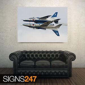 KAWASAKI t-4 acrobatico Group (aa065) Aereo Poster-Poster Arte Stampa a1 a2 a3