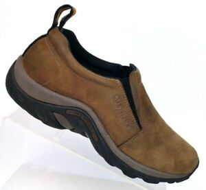 Merrell-Brown-Suede-Dual-Density-Hiking-Loafer-Shoes-J60831-Men-039-s-US-9-EU-43