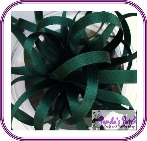 Berisfords Double Sided Polyester Satin Ribbon Reels Choose Width and Colour