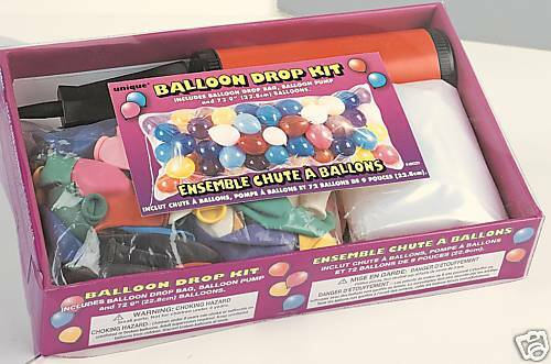 Fiesta Globo Gota Kit Bag Bomba /& 72 Globos para todas las ocasiones