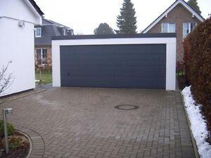 GROSSRAUMGARAGE NACH MASS Garage TRAPEZ Garagen Fertiggaragen 1a.de ...