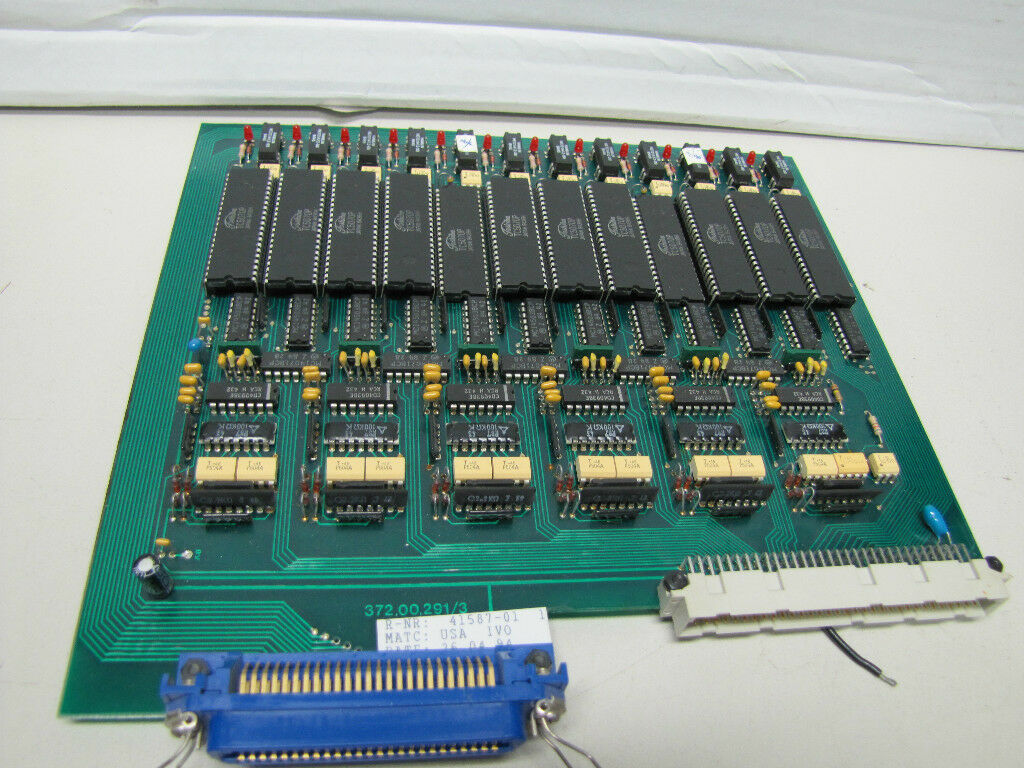 UNKNOWN BRAND CIRCUIT BOARD CARD 372.00.291 3 372002913 41587-01