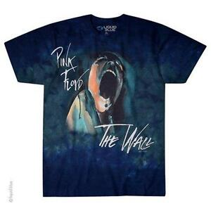 OFFICIAL-LICENSED-PINK-FLOYD-SCREAMING-FACE-TIE-DYE-T-SHIRT-ROCK-IMPORT-WALL
