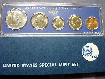 Kennedy SMS Proof set Lot 1966 /&1967