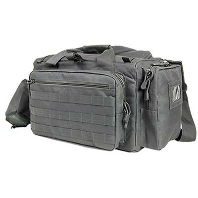NcStar Tactical Competition Range Bag MOLLE Pistol Storage Urban Gray CVCRB2950U