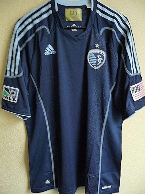 the best attitude 75344 bfc7b MLS adidas Sporting Kansas City Soccer Authentic Jersey XL 7649a