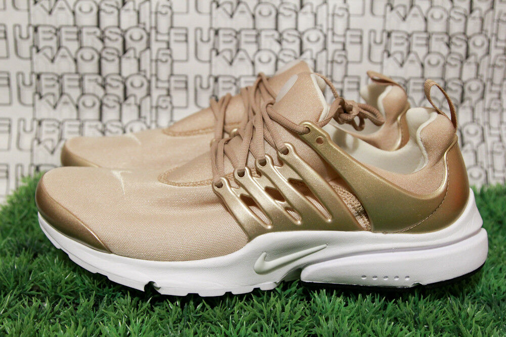 Nike Presto Premium PRM se qs Light Gold White off 848141 900 Uomo 11,Donna 12.5