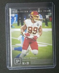 2020 Panini Chronicles Panini Football Rookie - CHASE YOUNG Redskins RC #PA-35