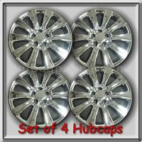 2011-2013 16 Toyota Corolla Replacement Hubcaps, Set Of 4 Chrome Wheel Covers