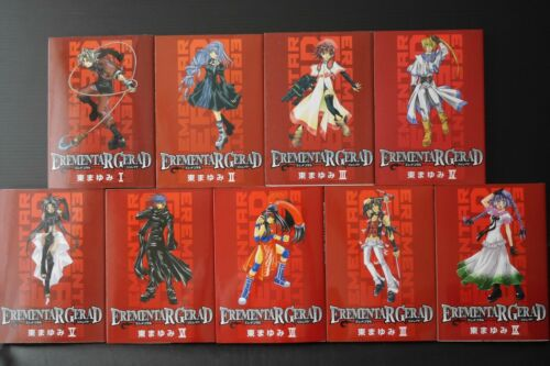 JAPAN Mayumi Azuma manga Elemental Gelade 1~18 Complete Set