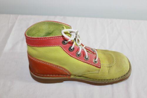 Vintage Kickers Leather Bicolour T 35 Be