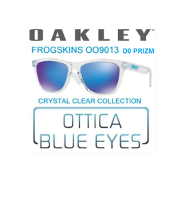 9013 Da Crystal Clear Sole Oakley Collection Occhiali D0 Frogskins LUzMSGpqV