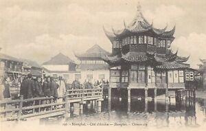 CPA-CHINE-SHANGHAI-CITE-CHINOISE