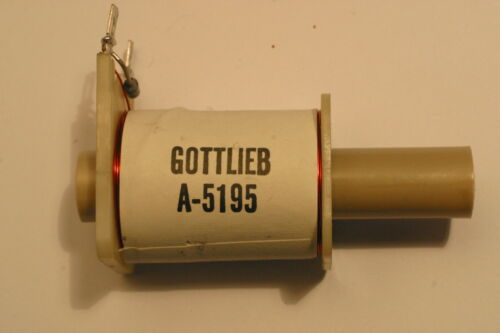 BOBINE DE FLIPPER GOTTLIEB A 5195 ORIGINE