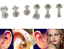 New-16G-Gem-Round-Tragus-Lip-Ring-Ear-Stud-Earring-Cartilage-Body-Piercing thumbnail 4
