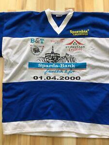 """game worn Trikot vom """" Boys are back in Town"""" Spiel in Kassel vom 01.04.2000"""