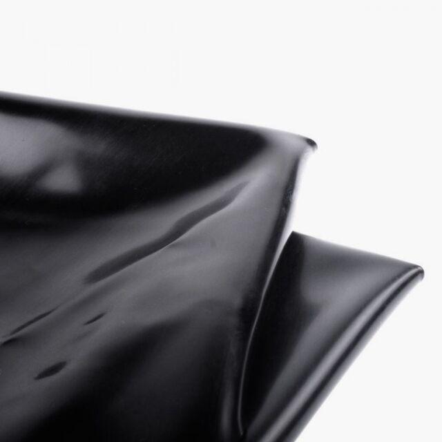 WG BLACK PVC BED SHEET Waterproof VINYL UK SELLER FAST POST