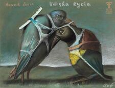 Polish poster by Stasys Eidrigevicius